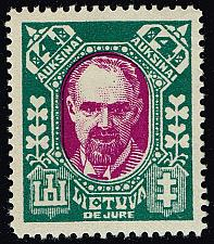 Buy Lithuania #118A Dr. Galvanauskas; Unused (2Stars)  LIT0118A-01XRP