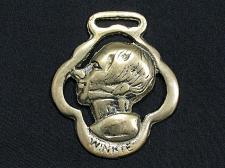 Buy Horse Brass Decorative Tack Bridle Martingale Winkie Vintage