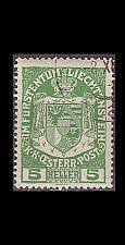 Buy LIECHTENSTEIN [1917] MiNr 0005 ( O/used )