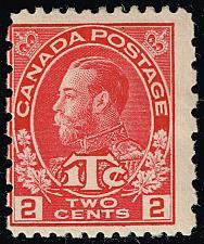 Buy Canada #MR5 King George V; Unused (1Stars) |CANMR5-01XRP