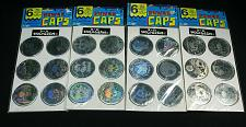 Buy Vintage POGS Holographic Skulls LOT of 24 NEW Old Stock Power Caps