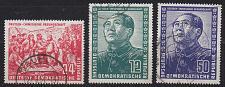 Buy GERMANY DDR [1951] MiNr 0286-88 ( OO/used ) [01]