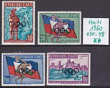 Buy HAITI [1960] MiNr 0595-98 ( **/mnh ) Überdruck Olympiade