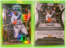 Buy MLB ADAM JONES BALTIMORE ORIOLES 2019 PANINI PRIZM REFRACTOR #1 MNT