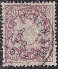 Buy GERMANY Bayern Bavaria [1900] MiNr 0068 ( O/used ) [02]