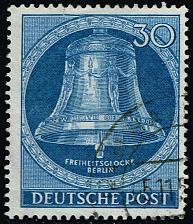 Buy Germany #9N97 Freedom Bell; Used (3Stars) |DEU9N097-01XRP