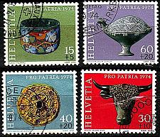 Buy SCHWEIZ SWITZERLAND [1974] MiNr 1031-34 ( O/used ) Pro Patria