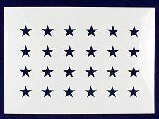 """Buy 24 Star Field """"Old Glory"""" Stencil 14 Mil -US G Spec 10.5 x 14.82"""" Long Star Fiel"""