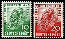 Buy GERMANY Alliiert AmBri [1949] MiNr 0106-07 ( **/mnh )