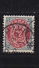 Buy DÄNEMARK DANMARK [1875] MiNr 0026 II Y B b ( O/used )