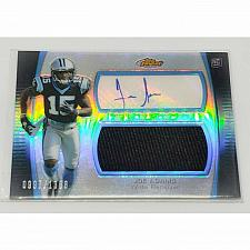 Buy NFL JOE ADAMS PANTHERS AUTOGRAPHED 2012 TOPPS FINEST JERSEY REFRACTOR RC /1360
