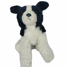 Buy Aurora Border Collie Puppy Dog Black White Plush Stuffed Animal 2016 12.5""