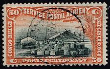 Buy Belgian Congo #C1 Wharf on Congo River; Used (3Stars) |BCOC01-03XRS