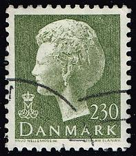 Buy Denmark #641 Queen Margrethe; Used (4Stars) |DEN0641-01XBC