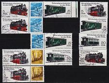 Buy GERMANY DDR [1981] MiNr 2629-32 ex ( OO/used ) [01] Eisenbahn div Zdr