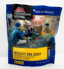 Buy Mountain House Freeze Dried Pre-Cooked biscuits and gravy 2 servings SEALED