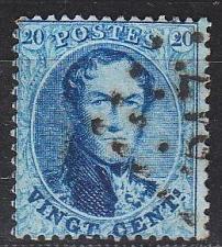 Buy BELGIEN BELGIUM [1863] MiNr 0012 C ( O/used )