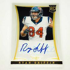 Buy NFL RYAN GRIFFIN HOUSTON TEXANS AUTOGRAPHED 2013 PANINI SELECT RC /499 MINT