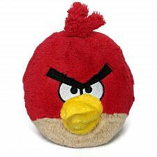 "Buy Angry Birds Red Bird Plush Stuffed Animal Commonwealth 2010 No Sound 6"""