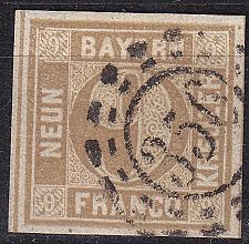 Buy GERMANY Bayern Bavaria [1862] MiNr 0011 ( O/used ) [01]