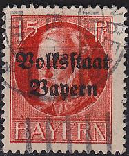 Buy GERMANY Bayern Bavaria [1919] MiNr 0120 A ( O/used )
