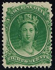 Buy Nova Scotia #11 Queen Victoria; Unused (3Stars) |NOV11-01XRP