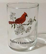 """Buy Virginia's Eastern Shore Cardinal 2.75"""" Collectible Shot Glass"""