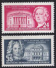 Buy GERMANY DDR [1953] MiNr 0382-83 ( **/mnh )