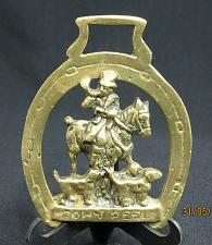 Buy Vintage Horse Brass Medallion Harness John Peel Hunter Dogs Bugle