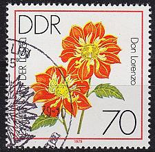 Buy GERMANY DDR [1979] MiNr 2440 ( O/used ) Blumen