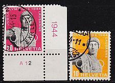 Buy SCHWEIZ SWITZERLAND [1944] MiNr 0428 ex ( O/used ) [01] Sport