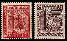 Buy GERMANY REICH Dienst [1920] MiNr 0016 ex ( */mh ) [01]