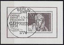 Buy GERMANY DDR [1974] MiNr 1962 Block 40 ( O/used ) Gemälde