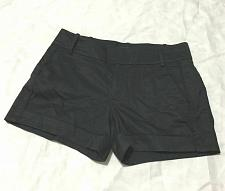 Buy Club Monaco Women black cotton shorts Flat from Size 6 NWOT