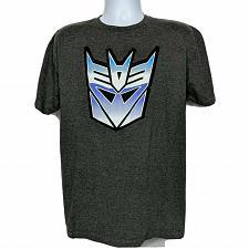 Buy Transformers Decepticon Symbol G1 Generation Graphic T-Shirt Large Short Sleeve