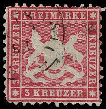 Buy Germany-Wurttemberg #36 (Mi#326c) Dark Carmine Shade; Used (3Stars) |WUR36dark-01XRP