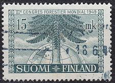 Buy FINLAND SOUMI [1949] MiNr 0369 ( O/used ) Pflanzen