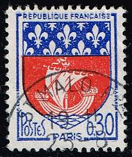 Buy France #1095 Arms of Paris; Used (0.25) (2Stars) |FRA1095-04