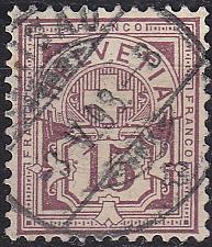 Buy SCHWEIZ SWITZERLAND [1882] MiNr 0057 Y a ( O/used )
