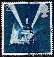Buy Great Britain #1614 St. Paul's Cathedral; Used (4Stars) |GBR1614-04XVA