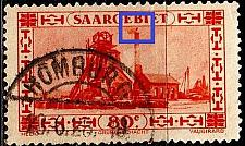 Buy GERMANY Saar [1926] MiNr 0116 PF II ( O/used ) Plattenfehler