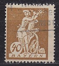Buy GERMANY Bayern Bavaria [1920] MiNr 0183 ( O/used )
