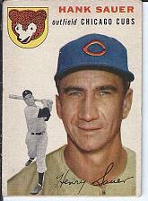 Buy Hank Sauer 1954 Topps