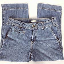 Buy St John's Bay Women's Capri Jeans Size 8 Stretch Medium Wash Denim