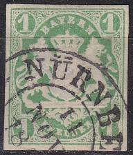 Buy GERMANY Bayern Bavaria [1867] MiNr 0014 a ( O/used ) [02]