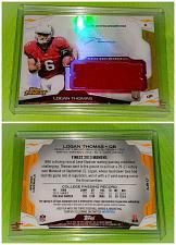 Buy NFL Logan Thomas Arizona Cardinals 2014 Topps Finest Autographed Jersey RC Mnt