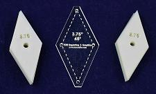 """Buy Mylar 3.75""""- 45 Degree Diamonds 51 Piece Set - Quilting / Sewing Templates"""