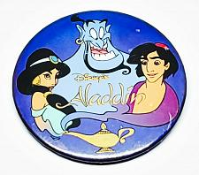 Buy AUTHENTIC WALT DISNEY ALADDIN 3 INCH COLLECTIBLE PINBACK BUTTON RARE