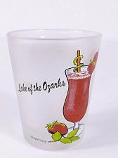"Buy Lake Of The Ozarks Strawberry Daiquiri Recipe 2.25"" Collectible Shot Glass"