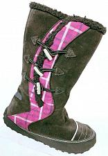 Buy Sorel Girl's Suka 2 Brown Pink Suede Toggle Winter Snow Boots Size 5